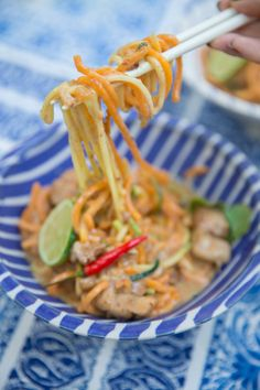 Skinny Satay Noodles – The Londoner