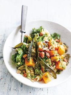 Kale Pumpkin And Sage Quinoa Pasta   Donna Hay
