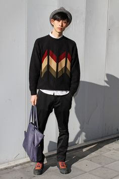 They Are Wearing: Tokyo Fashion Week - AWESOME Sweater!!