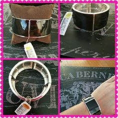 NEW WITH TAGS! BLACK AND SILVER PANEL BRACELET NEW WITH TAGS! BLACK AND SILVER PANEL ELASTICIZED BRACELET. This is a shiny and stunning staple to any fabulous wardrobe. Elasticized bracelet adjusts to any size wrist. Priced to sell. Make me an offer, gorgeous! Jewelry Bracelets