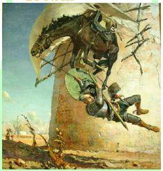 jose moreno carbonero don quijote - Buscar con Google
