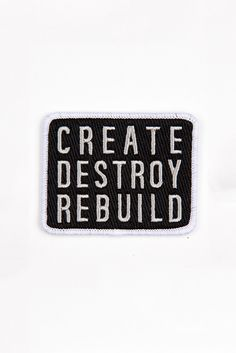 MINI CREATE DESTROY REBUILD PATCH
