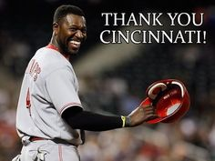 """40.5k Likes, 1,064 Comments - Brandon Phillips (@datdudebp) on Instagram: """"Well #redscountry, I want to say #thankyou to all the #reds coaches, staff and teammates 4 the…"""""""