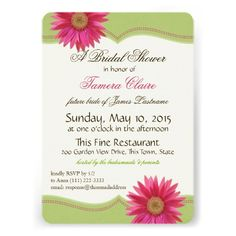 This DealsSpring Green and Fuschia Pink Daisy Bridal Shower InvitationYes I can say you are on right site we just collected best shopping store that have