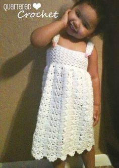 Quartered Heart Crochet: My Finished Crochet Sarafan Dress