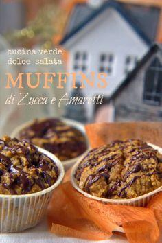 Muffins di zucca e amaretti : nbb io li ho fatti aggiungendo un po' di cacao in polvere e noci ma senza rum. Li ha mangiati anche Paolo.!!!