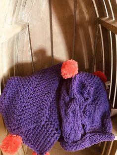 Mütze und Schal für vierjährige, Strickanleitung auf Anfrage! 😉 Bunt, Knitted Hats, Knitting, Fashion, Breien, Knit Hats, Moda, Tricot, Fashion Styles