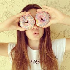 "@Ava Allan's photo: ""I Donut care! Hehe get it guys!? """