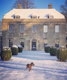 Georgian Architecture, Old Money, Cottage, Snow Scenes, English Countryside, Countryside Style, Paradis, Future House, Winter Wonderland