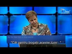 Joyce Meyer-The first law of things part 1 Joyce Meyer, Youtube