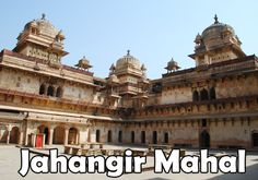 """""""Jahangir Mahal"""" was established by the ruler of region Vir Singh Deo in the 17th century AD. It was built as a warm reception of the Mughal Emperor Jahangir, during his first visit to the city.  http://www.holidaykeys.co.uk/heritage-of-orchha-madhya-pradesh/"""
