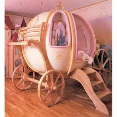 Fantasy Coach - A bed for the kids who love to dream.   #Kids #Bed  