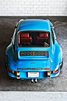 One of the Porsche 911s restored by Singer Vehicle Design.