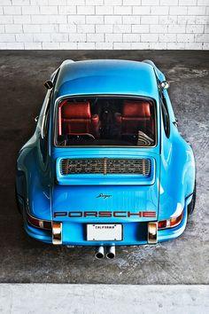 One of the Porsche 911s restored by Singer Vehicle Design.