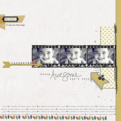 3 photos + film strip + scatters