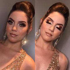 It's wedding time Makeup For Green Eyes, Love Makeup, Makeup Inspo, Makeup Tips, Makeup Ideas, Shimmer Eye Makeup, Skin Makeup, Eyeshadow Makeup, Eyeshadows