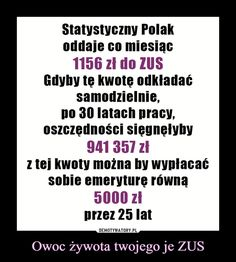 Demotywatory.pl Polish Music, Weekend Humor, Funny Quotes, Funny Memes, Keep Smiling, Funny Stories, Wtf Funny, Life Lessons, Quotations