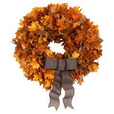 Autumn Gold Wreath