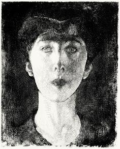 Elisabeth, Queen of the Belgians (1917) Albert Besnard