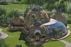"""""""Are they real?"""" 25 homes that make you ask Modern architecture had long since begun to spread through our daily lives, quietly and deeply. Design of interesting buildings, smart sky. HOME DESIGN Casa Dos Hobbits, Earth Bag Homes, Geodesic Dome Homes, Earthship Home, Futuristic Architecture, Sustainable Architecture, Residential Architecture, Contemporary Architecture, Dome House"""