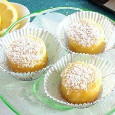 Luscious Lemon Bars - the perfect lemony sweet/tart custard on a shortbread crust. A great traditional dessert. www.simplysated.com