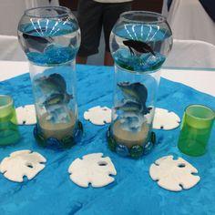 Center pieces I made for a baby shower:)