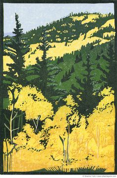 Paintings, prints, and illustrations by Colorado artist Sherrie York. Landscape and wildlife subjects.
