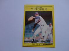 Bobby Thigpen Fleer 91 Baseball Card Collection.