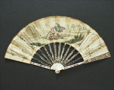 18th century hand fan...faechersammlung.de