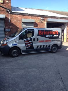 Briarcroft Service Station Vehicle Graphics Atherton Manchester by Atherton Media