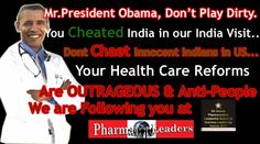 Indian Masses to Benefit From U.S. Healthcare Reform!!!