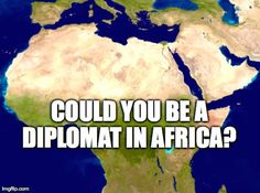 Could You Make it as a Diplomat in Africa?Take Our Quiz to Find Out! #Africa #facts #quiz