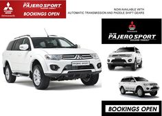 Pajero Sport is Now available with Automatic Transmission and Paddle Shift Gear.  Book your Test Drive at Shakti Motors  #pajeroautomatic #mitsubishipajerosport