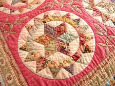 so pretty - wonder what this pattern is called...?