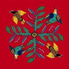 Ardmore Fabrics: Bird Crossing