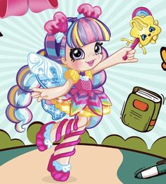 Shopkins Characters, Shopkins And Shoppies, Cute Creatures, Big Fashion, Luigi, Princess Peach, Anime, 1, Toys