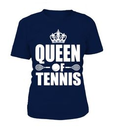 Queen of Tennis T Shirt