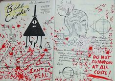 Gravity Falls Journal 3 Replica - Bill Cipher old by leoflynn on DeviantArt Libro Gravity Falls, Gravity Falls Secrets, Gravity Falls Book, Gravity Falls Journal, Dipper Y Mabel, Mabel Pines, Big Dipper, Journal 3, Journal Pages