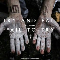 "MARSquotes | ""Try and fail but never fail to try"" - #JaredLeto (credits to the owners)"