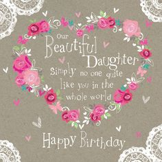 Happy Birthday Lisa Hope A Brilliant Day Lots Of Love Mum Dadxxx