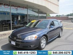2010 Chevrolet Chevy IMPALA LT BLUE Call for Price 61525 miles 845-419-1293 Transmission: Automatic  #CHEVROLET #IMPALA #used #cars #JimmysAutoOutlet #Fishkill #NY #tapcars