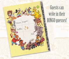 Little Golden Book Bingo Sheet Printable Pdf