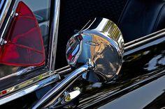 1969 Chevy Impala Side Mirror  - #vintagecars #photography #chevyimpala #antiquecars