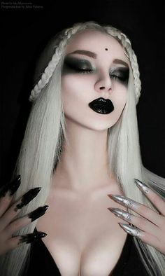 126 best blonde goth images  goth blonde goth gothic beauty