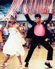 Grease: Olivia Newton John and John Travolta - the oldest teenagers in town (and fabulous with it)!