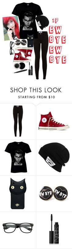 """""""Ew Bye"""" by katiecutie31 on Polyvore featuring Converse, Vans, Valfré, NARS Cosmetics and Mary Kay"""