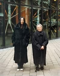 Mette Tronvoll - Stella and Katsue, Maiden Lane, 2001 Contemporary Art, Art Photography, Fur Coat, Cotton, Jackets, Charlotte, Google, Fashion, Contemporary Photography