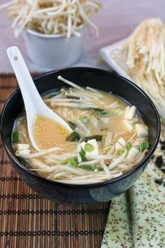 Miso Soup | 28 Vegetarian Take-Out Recipes You Can Make In 30 Minutes Or Less