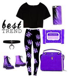"""""""ㅔㅑ게ㅣㄷ (purple)"""" by crystalgem12 on Polyvore featuring Fendi, Ole Henriksen, Max&Co., G·Six Workshop and Casetify"""