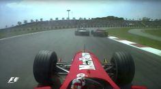 Vídeo | Onboards clásicas: Barrichello adelanta a los dos Schumacher en el GP de España 2000  #F1 #Formula1 #SpanishGP
